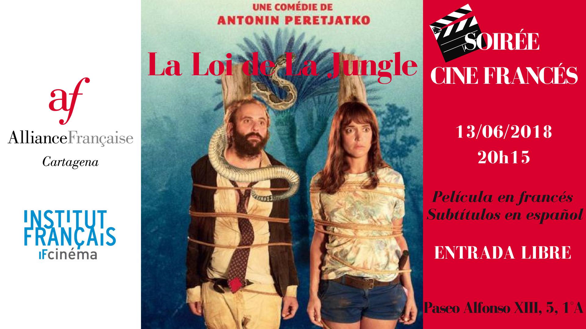 Soirée Cine Francés La loi de la jungle 6