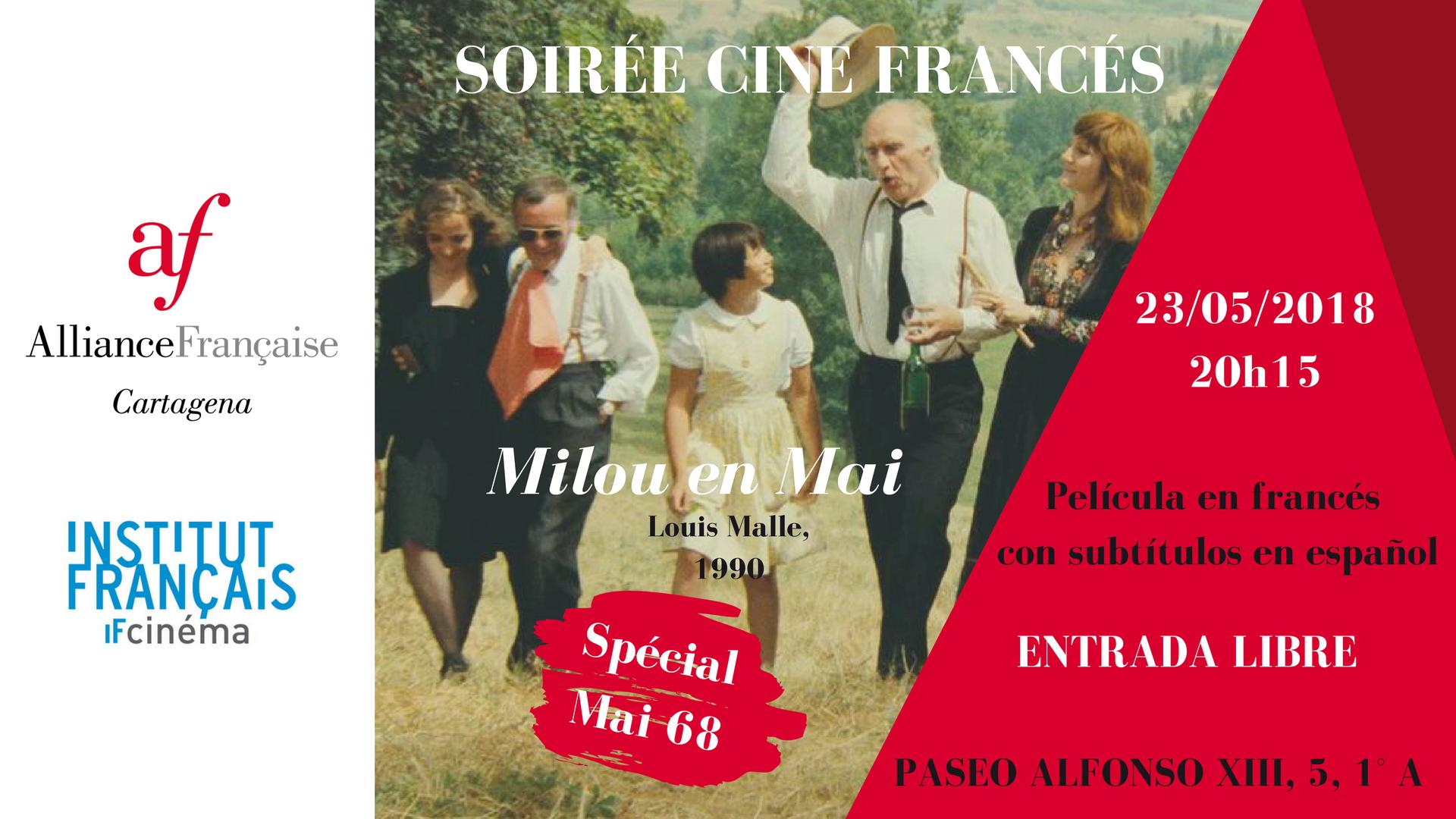 Soirée Cine francés Milou en Mai #Mai 68 6