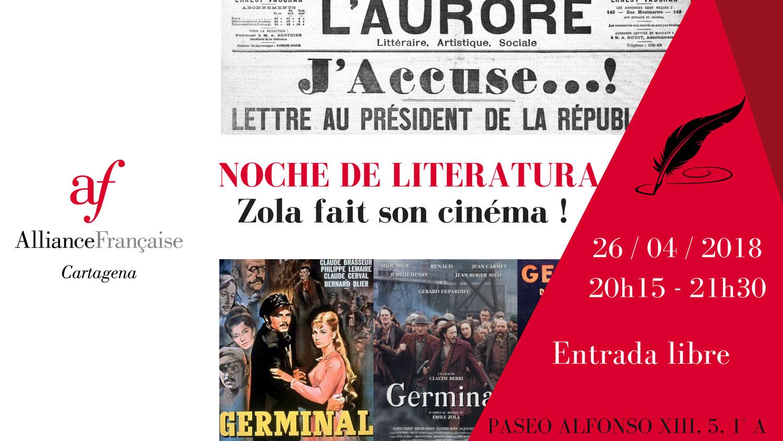 Noche de literatura - Emile Zola 6