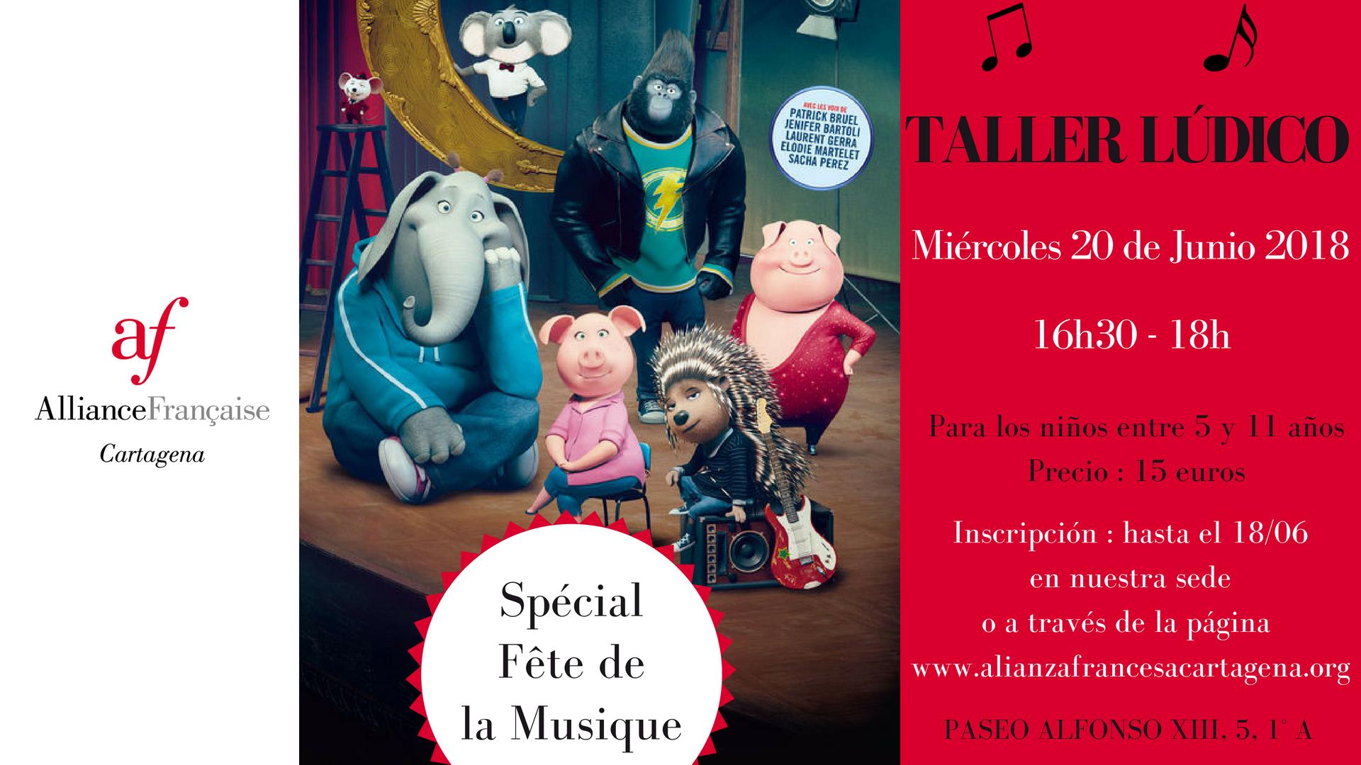 Taller lúdico Spécial #FêtedelaMusique 6