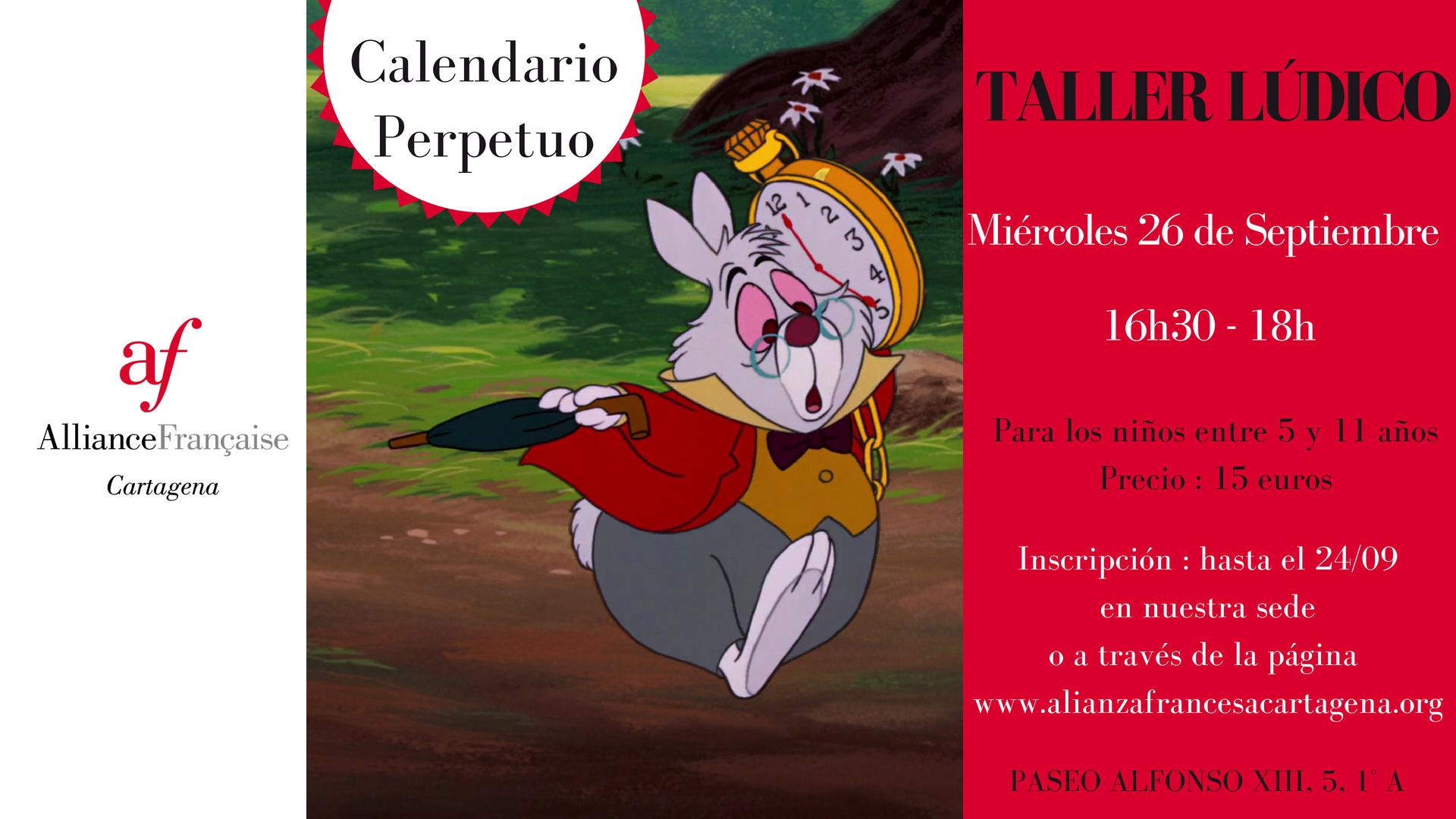 Taller lúdico - Calendario Perpetuo 6