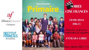 Soirée Cine Francés Primaire 1