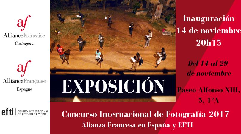 Exposición: Concurso internacional de fotografía Alliance Française en España y EFTI 6
