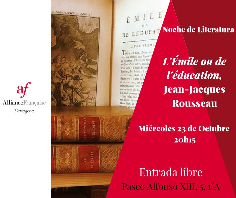 Noche de Literatura - Emile ou de l'Education 6