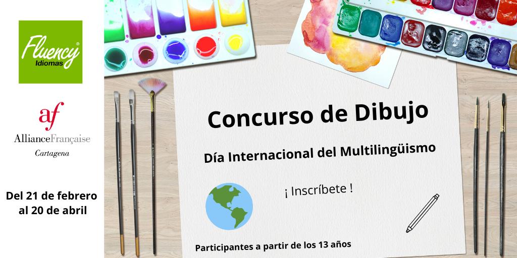 Concurso de Dibujo Día del Multilingüismo - Plazo de admisión 6